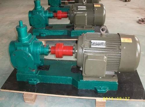 圆弧齿轮油泵的常见故障与维修方法: (1)故障现象:泵不能排料 故障原